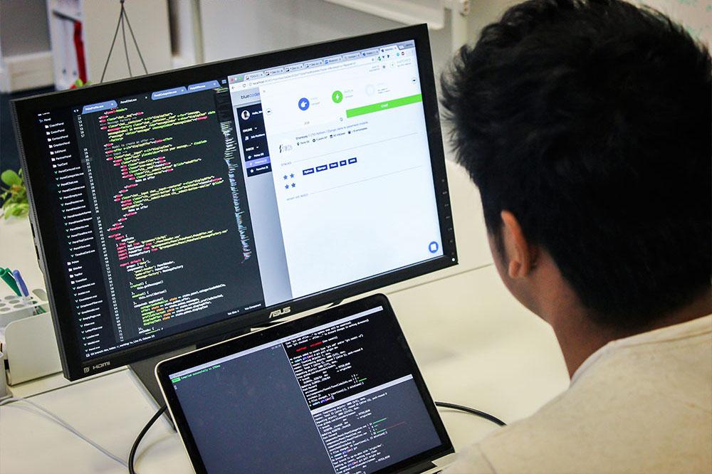 Dev plateforme code